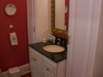 A view of the Bordeaux Suite Bathroom!