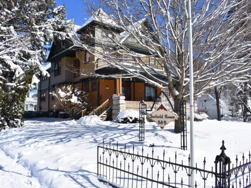 Scofield House in Winter