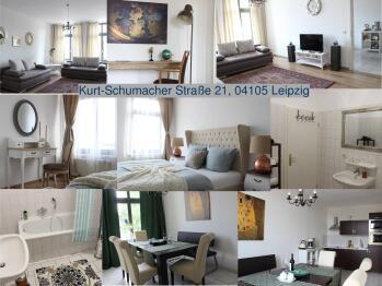 Apartment-Deluxe-Eigenes Badezimmer-Kurt Schumacher Str.21 - Basistarif
