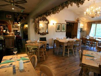 Our rustic restaurant is a lovely setting