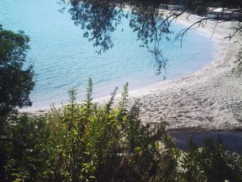 plage de Favone depuis la residence