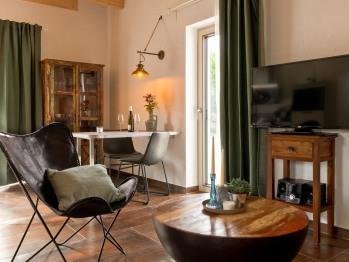 Ferienwohnung-Apartment-Eigenes Badezimmer-Balkon