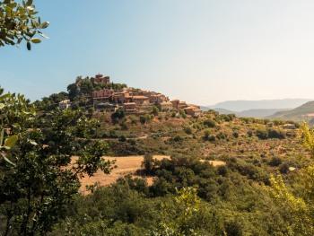 Vista pueblo Salinas de Hoz