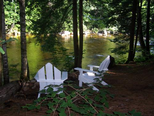 Relax by the Saco River in our Backyard