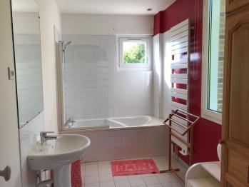 La Villa Vert Bois : la salle de bains