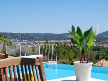 Aloasis - vue golfe de Saint Tropez