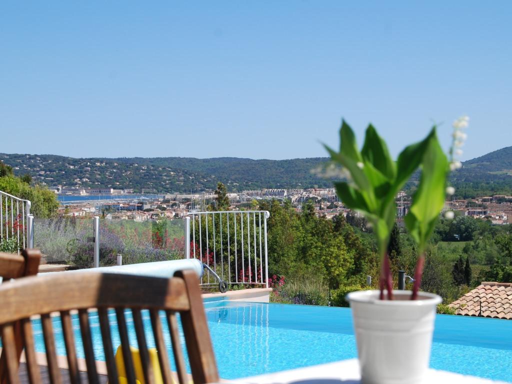 vue golfe de Saint Tropez