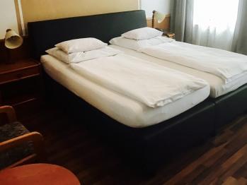 Doppelbett oder zwei Einzelbetten-Ensuite