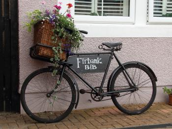 Firbank Guest House - Look out for our vintage bike on arrival