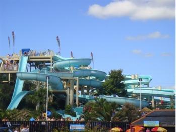 Splashdown@Quaywest Waterpark just a short walk away