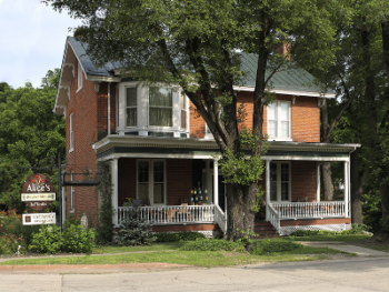 The Snyder House was built in 1856