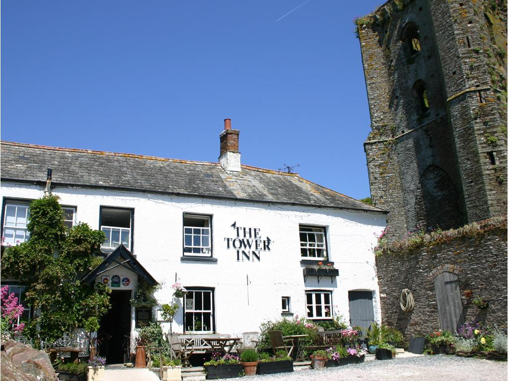 Front exterior view of The Tower Inn