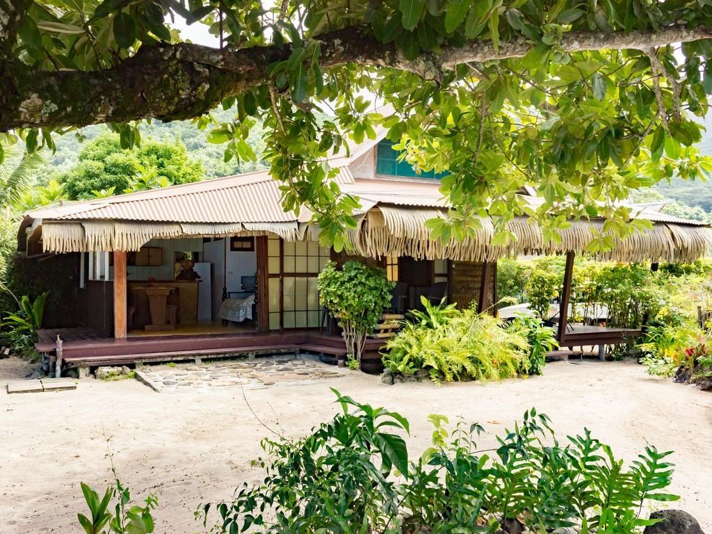 Bungalow-Famille-Salle de bain et douche-Vue mer