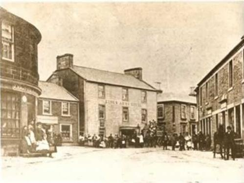 Kings Arms Hotel in the past