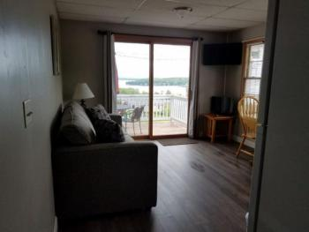 Premier Queen 12 Sofa and Deck View