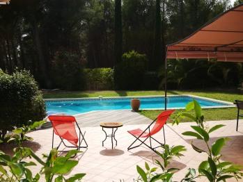 Espace jardin et piscine