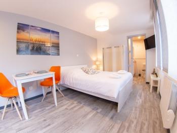 Studio-Premium-Salle de bain et douche-Terrasse