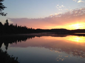 Sunrise Beaufort Lake
