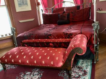 Shapira Suite King Bed with Fainting Couch, Very Private!
