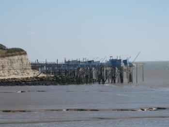 Les Carrelets sur l'estuaire