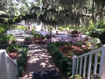 Garden off front veranda