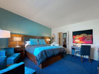 Tastefully remodeled rooms.