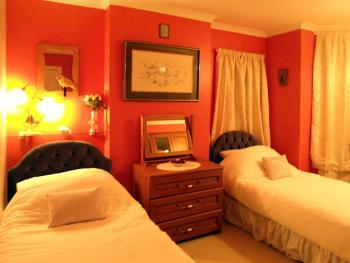 Twin room-Shared Bathroom-Flame Room