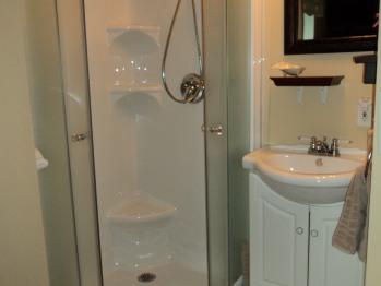 Salle de bain privée chambre Romantique
