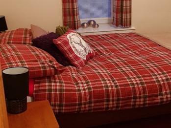 Ness City Apartments - Double Bedroom