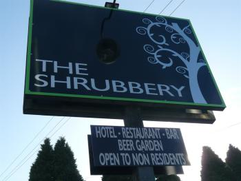 The Shrubbery Sign