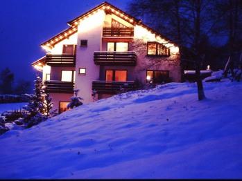 Nachtansicht im Winter