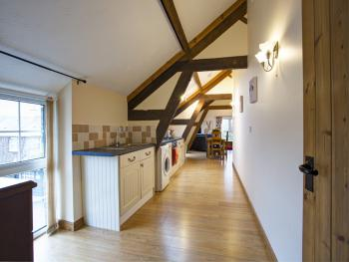 Kitchen to sitting area Gatherley View