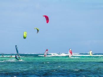 Kitesurf au Morne