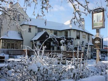 The Castle Hotel - A snowy New Years  Day