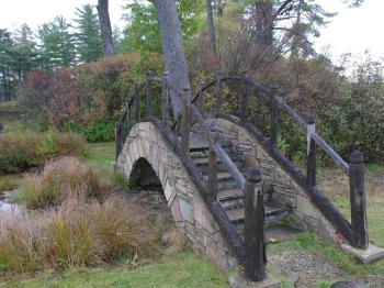 Stone Bridge to the Tea House Island