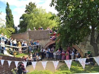 Stoke Bruerne annual Village at War September 2016