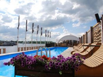 Swimming pool at Andrejosta