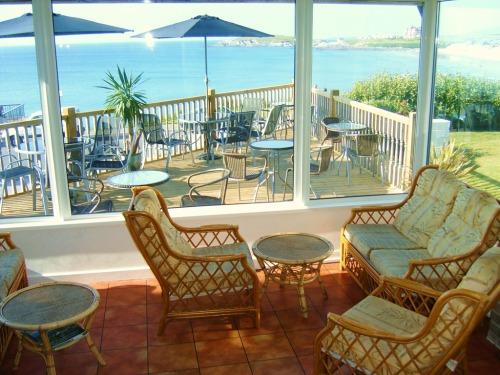 Stunning views over Fistral Beach  Surfside-Fistral Beach
