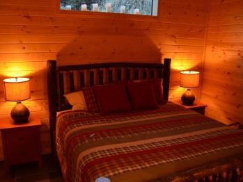 Fish Camp bedroom
