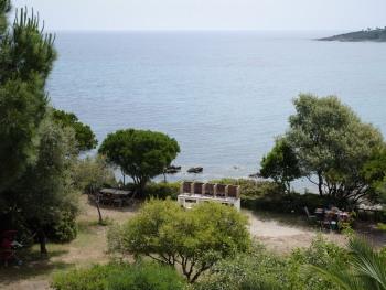 jardin, barbecues et mer