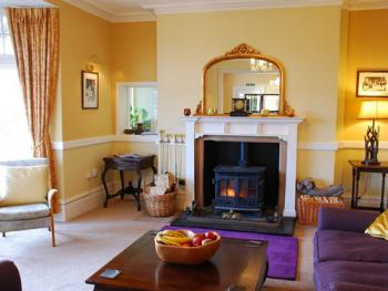 Guest Lounge at Dunkery Beacon Country House, Exmoor