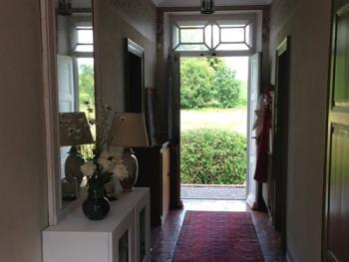 Intérieur de l'entrée de la maison