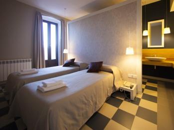 Doble con dos camas-Baño con ducha-Terraza-105