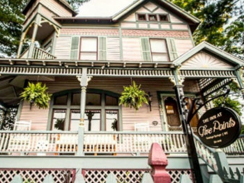 Our beautiful Queen Anne Victorian home! The Inn At Five Points