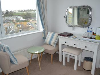 Room 4 Dresser & Seating Area