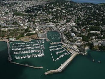 Aerial Torquay Harbour