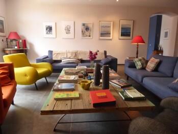 Salon Clos des Aspres - Maison d'hôtes de Charme proche de Collioure