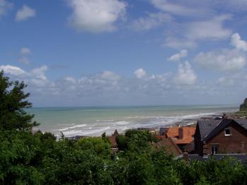 La vue sur mer à partir des Lodges