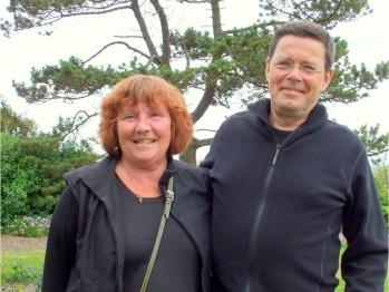 Swedish architect Jonas Ahlund and his wife Iren, at Carlton Seamill