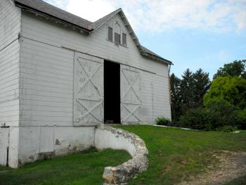 Historic bank barn